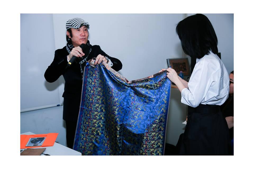 ied欧洲设计学院x中国服装设计师王宝元   义大利留学