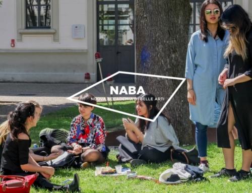 NABA米蘭藝術大學2021年10月碩士課程最高50%獎學金競賽!